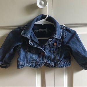 Baby Gap Cropped Jean Jacket